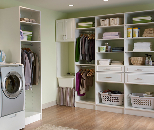 laundry-room-storage-idea Well organized laundry room design ideas