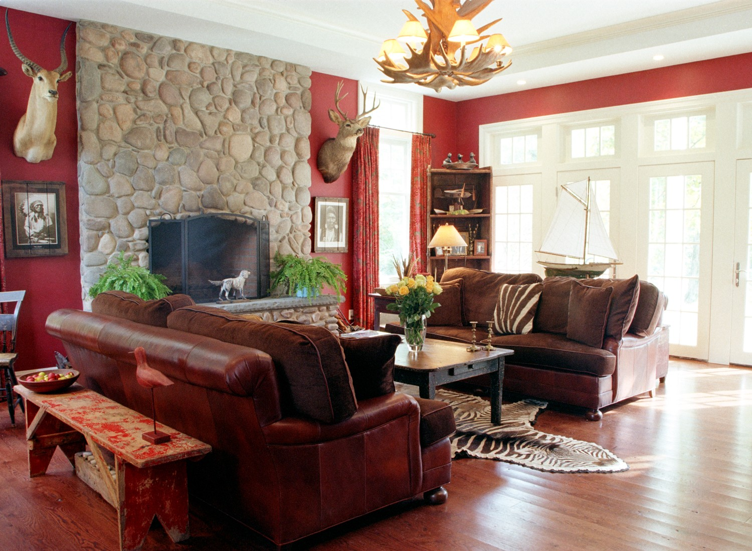 living-room-color-schemes Ideas for the Living Room Space to Offer a More Organized Look