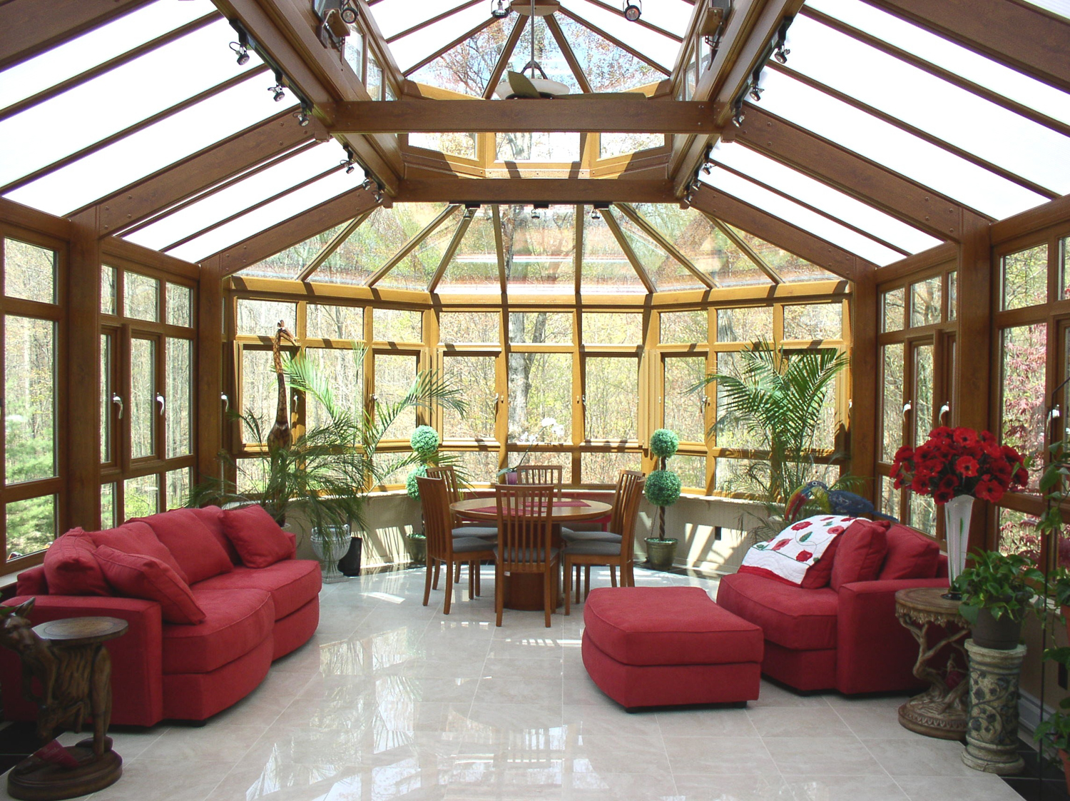 Sunroom design idea interior design ideas - Amazing image of sunroom interior design and decoration ...