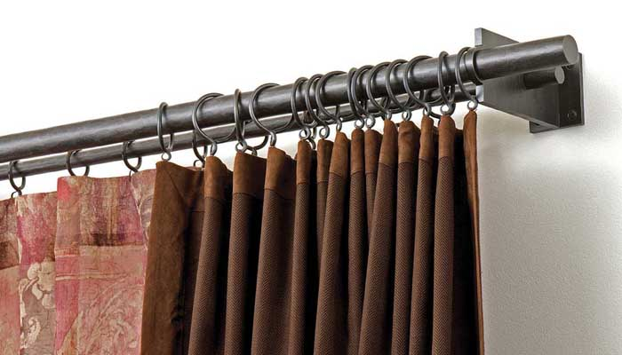 Double-curtain-poles Considerations for your curtain poles