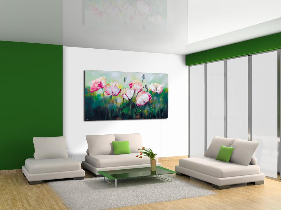 Green White Interior Color-Schemes