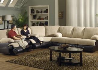 white sofa Living room interiors