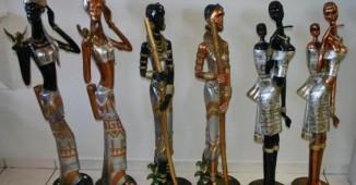 Ornaments Figurines Vases-