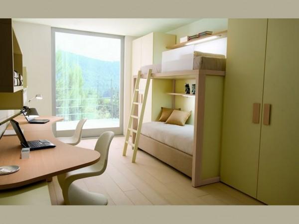 awesome twin kids bedroom-idea