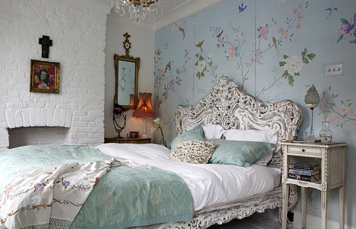 bedroom wallpaper chinoiserie