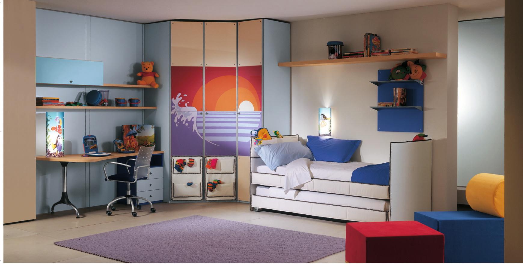 blue-theme-Mates-Beds-bedroom-decor blue theme Mates Beds bedroom decor