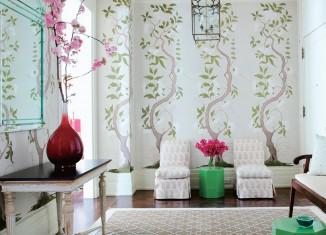 chinoiserie chic wallpaper