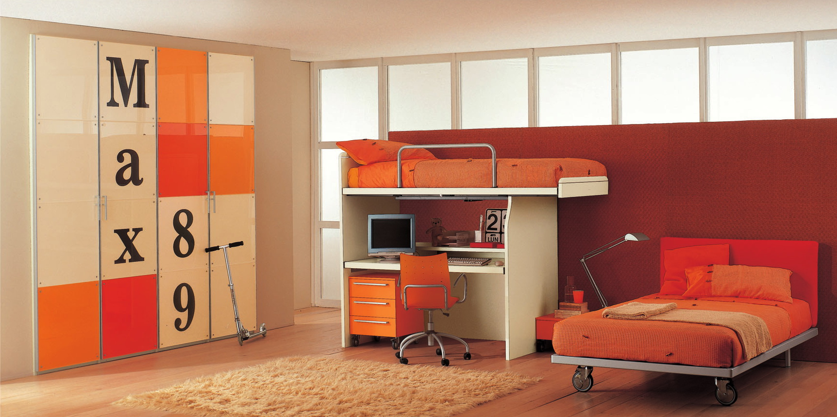 colorful-kids-bedroom-idea colorful kids bedroom idea