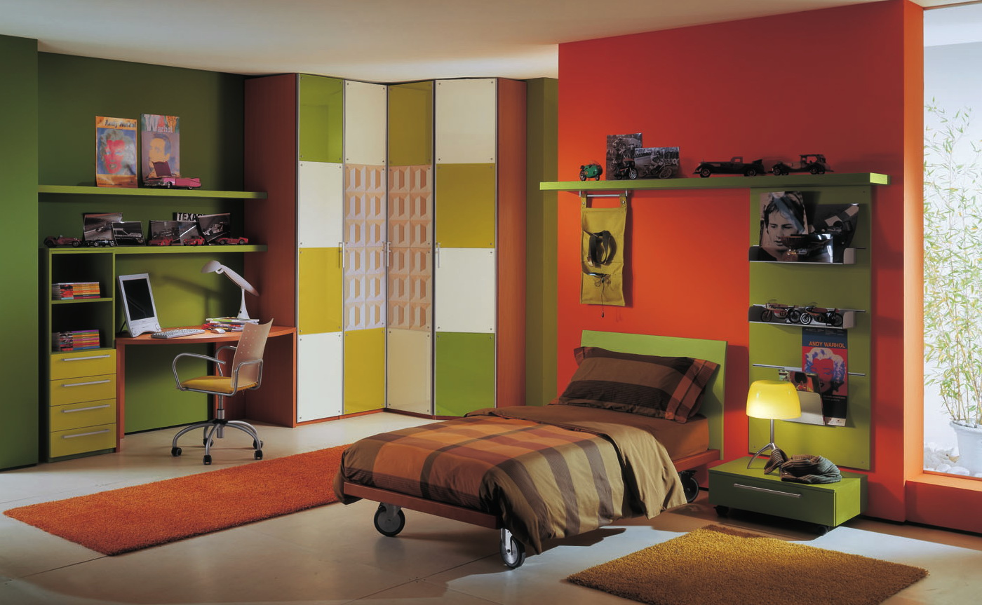 Perfect Boys' Bedroom Paint Color Ideas Red 1400 x 863 · 305 kB · jpeg
