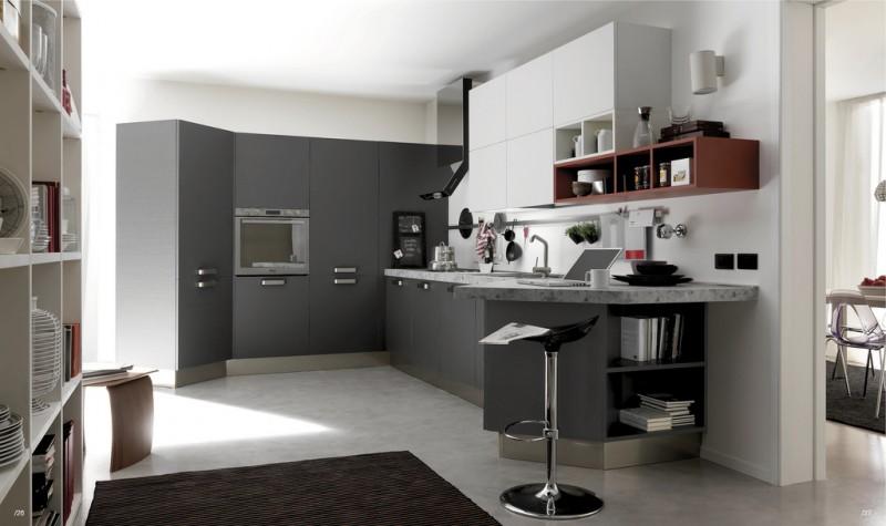 contemporary-kitchen-interiors-design-colors Interior Designing with Contemporary Style