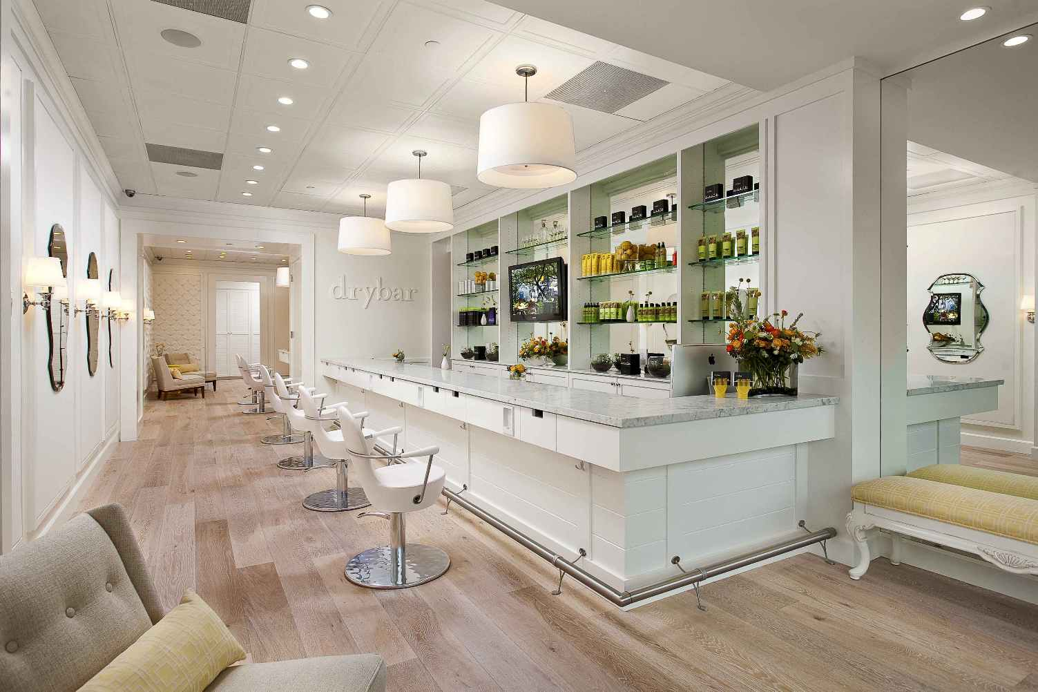 drybar interior design idea