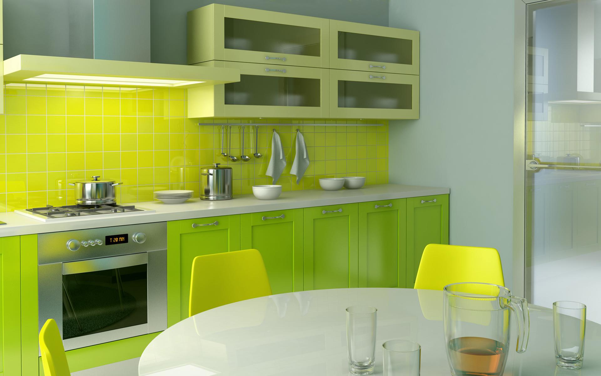 green-kitchen-design-idea green kitchen design idea