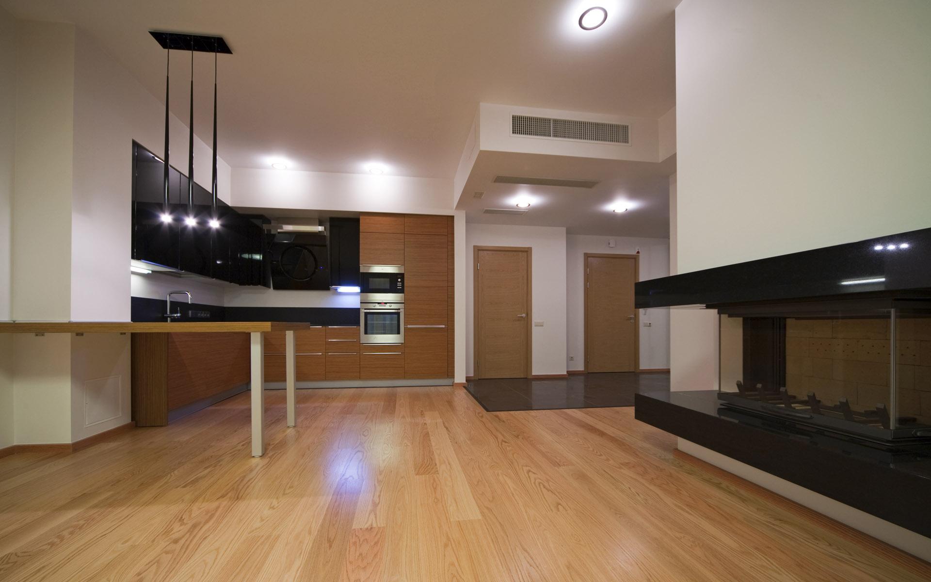 large-kitchen-interior-design-lighting large kitchen interior design lighting