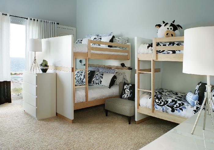 loft kids bedroom natural lighting