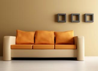 modern sofaset and wall items