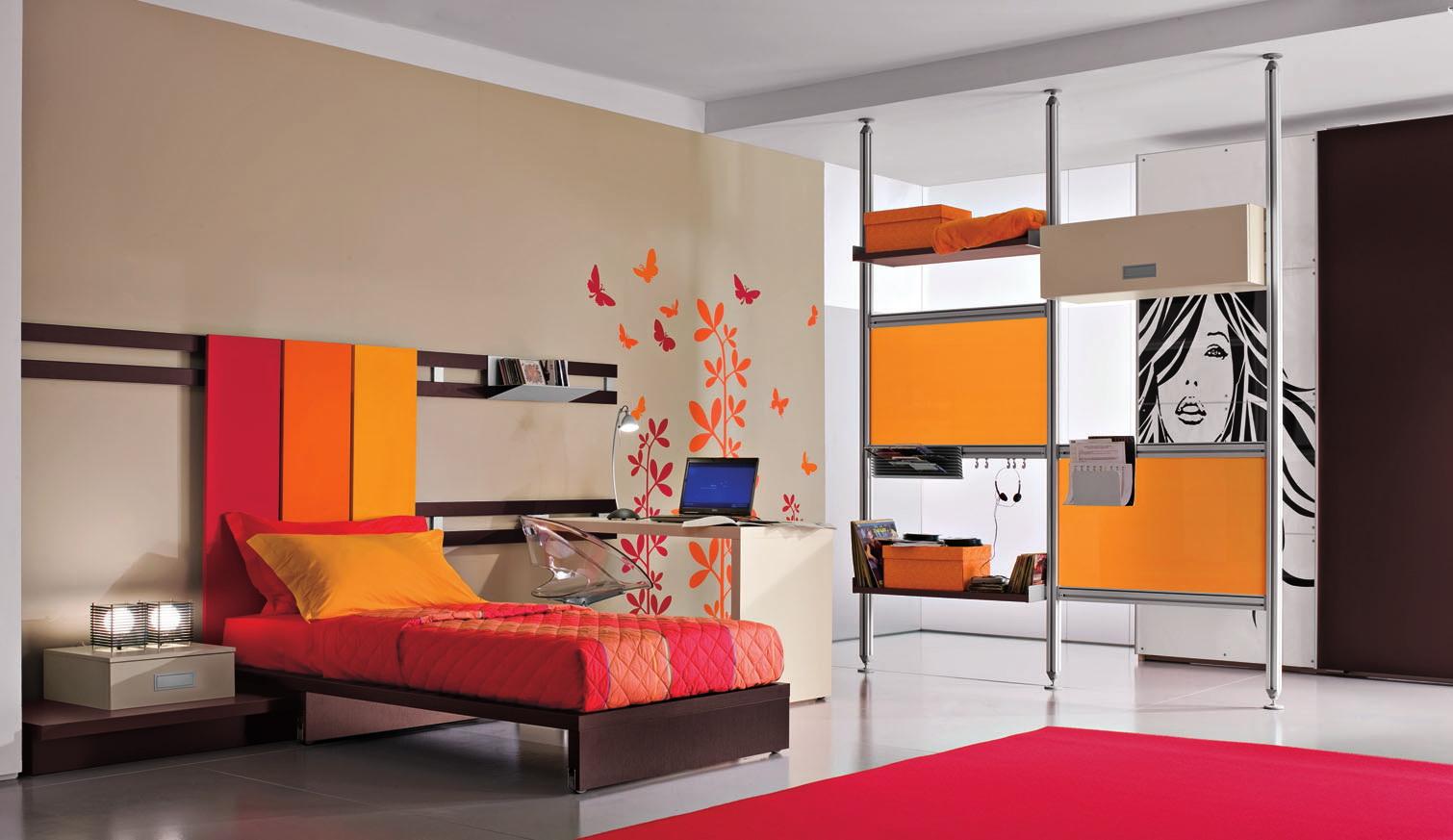 modern-teen-bedroom-decoration-idea modern teen bedroom decoration idea