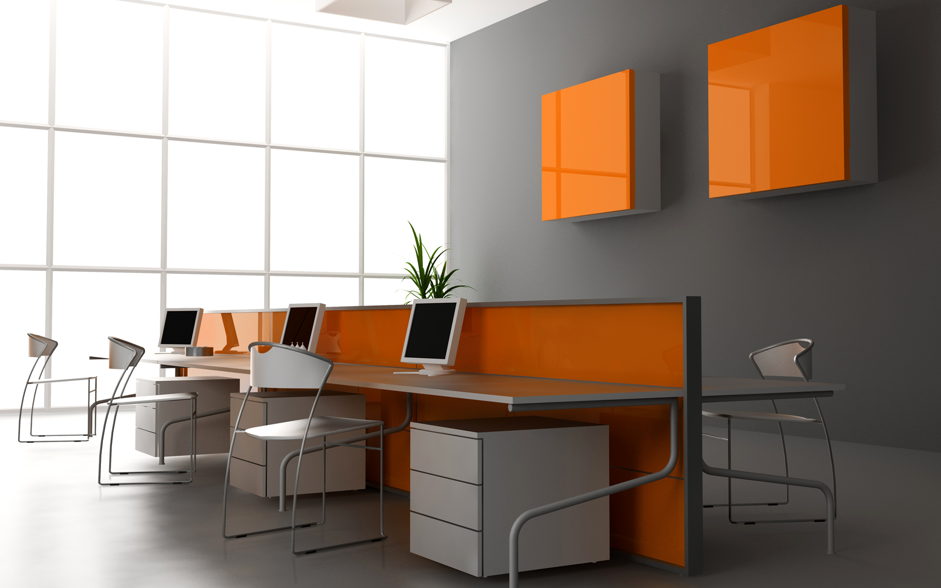 Office room interior decoration interior design ideas for Interior designs of offices