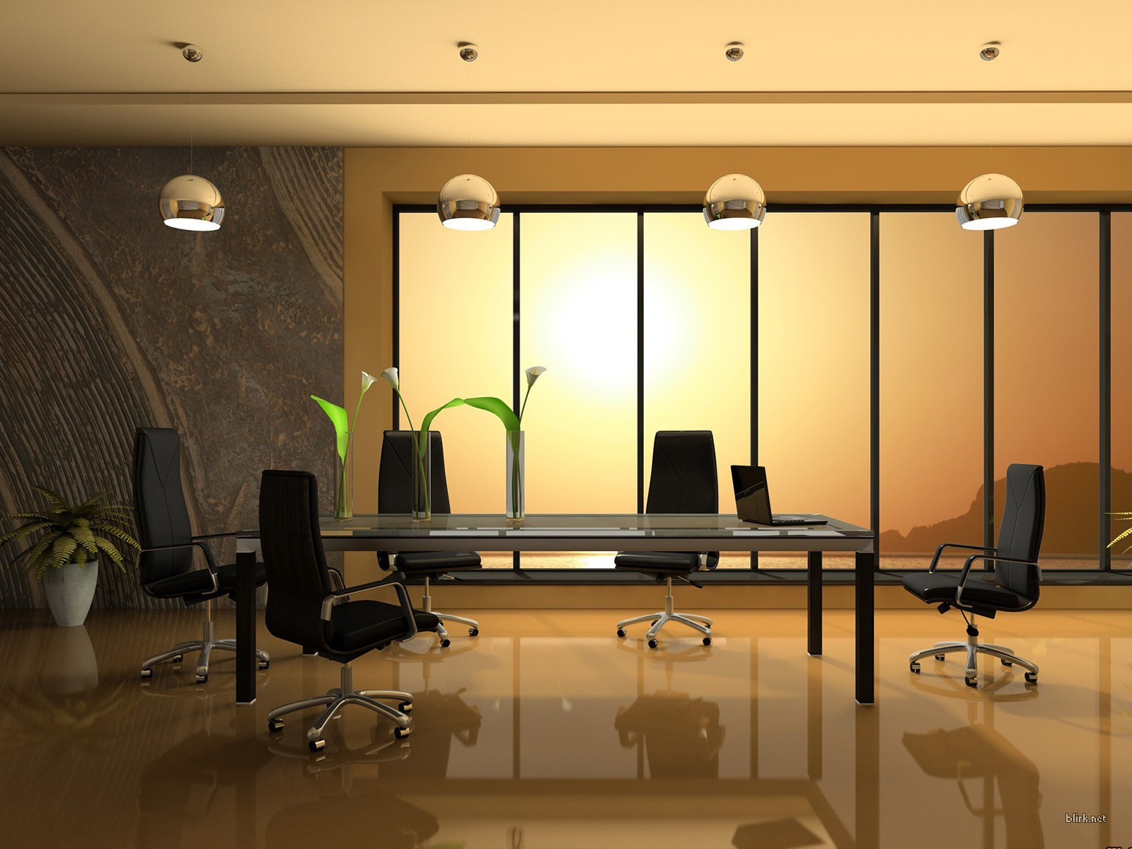 Office Room Lighting Interior Design Ideas