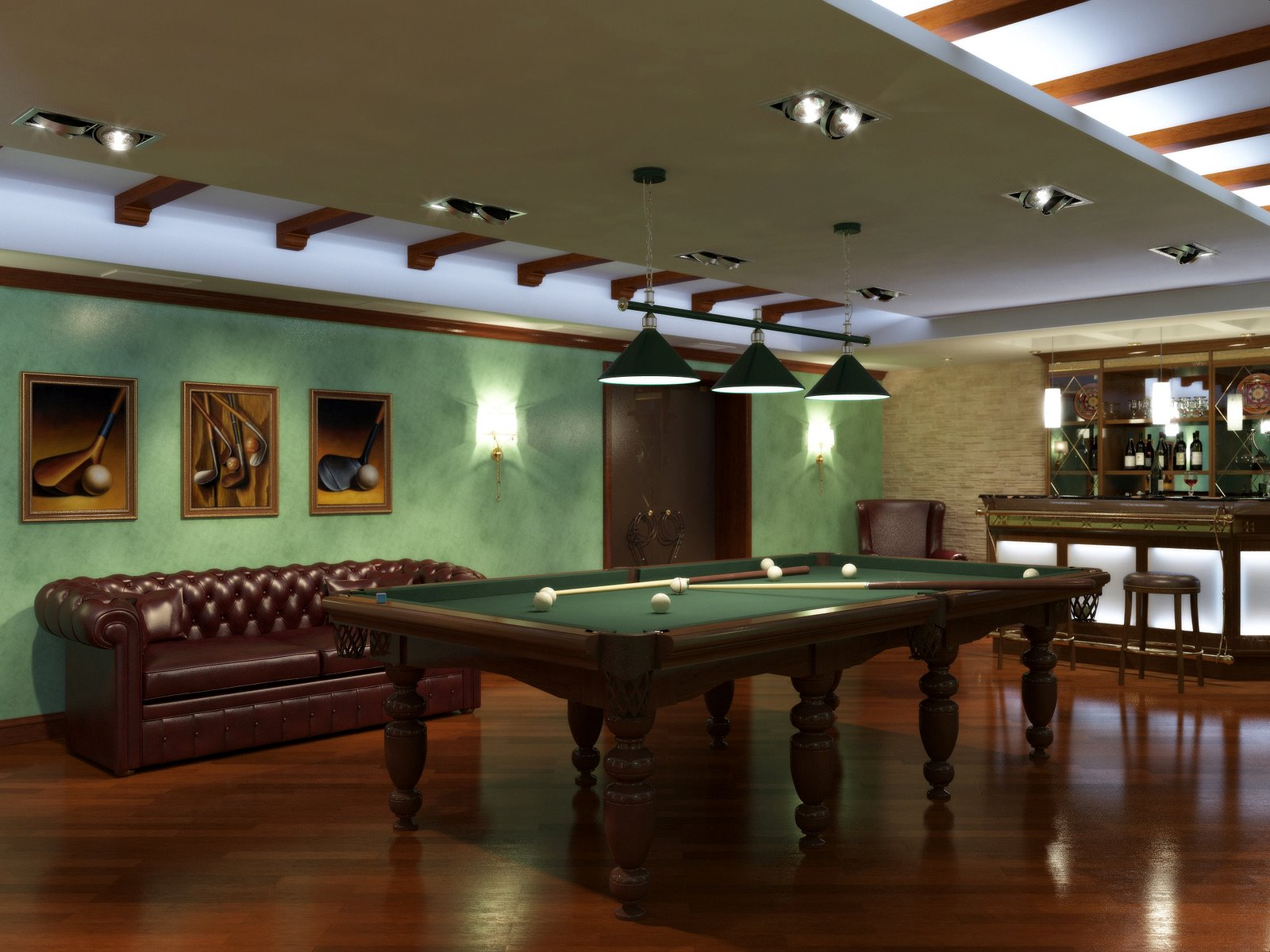 recreation room decoration interior design ideas