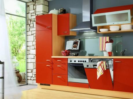 Red kitchen designs interior design ideas
