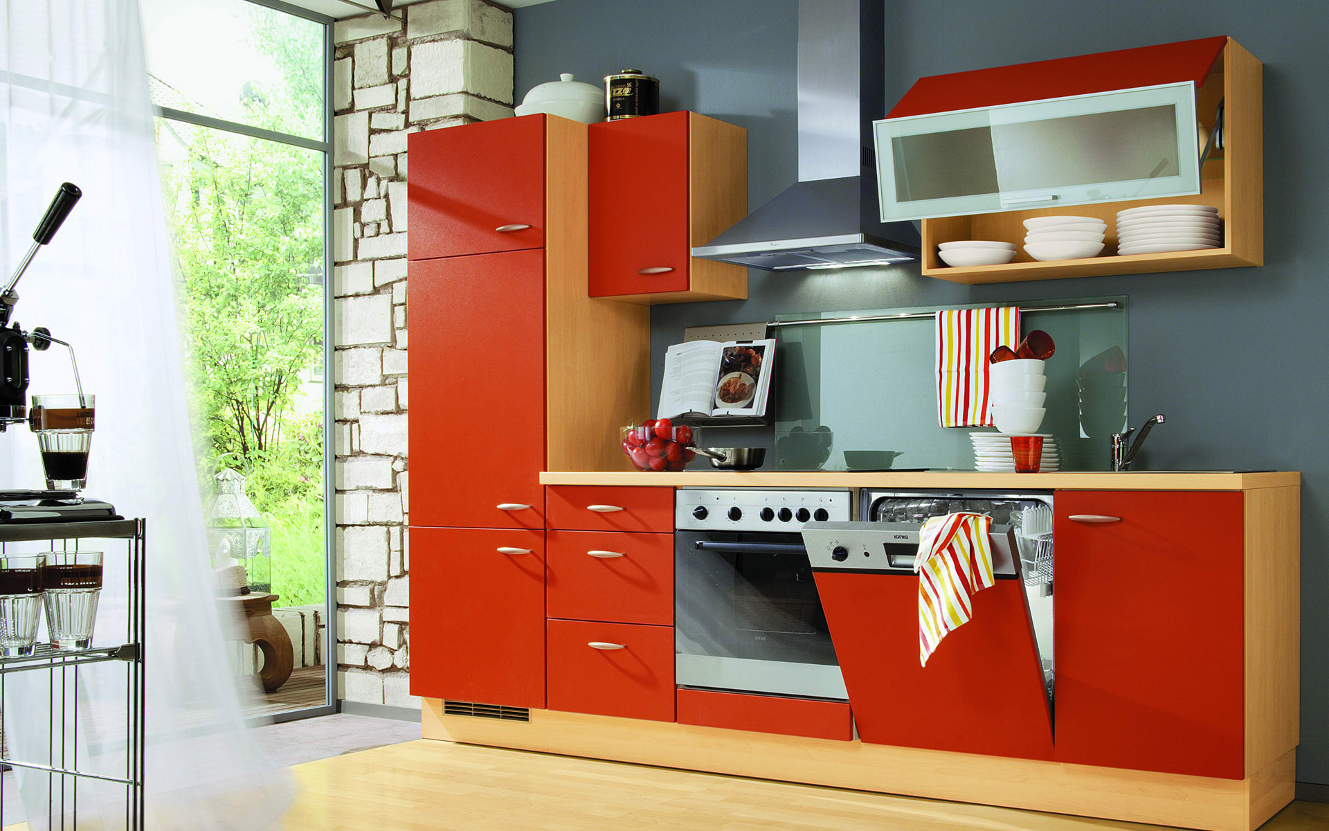 Red Kitchen Designs Interior Design Ideas