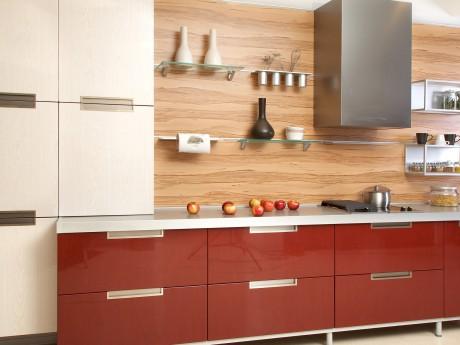 Kitchen Layout Designs on Red And White Kitchen Designs Idea   Interior Design Ideas