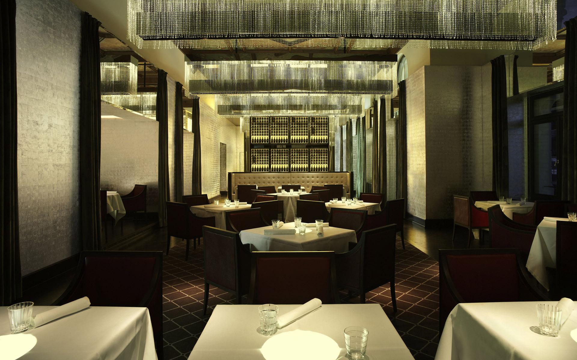 restaurant interior design idea