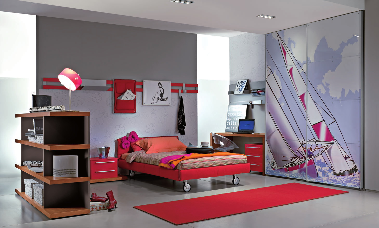 Teen Bedroom Furniture Idea Interior Design Ideas
