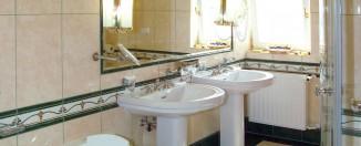 Small Contemporary Bathroom idea