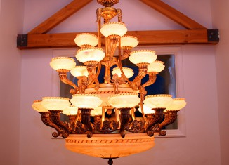chandelier lamp idea