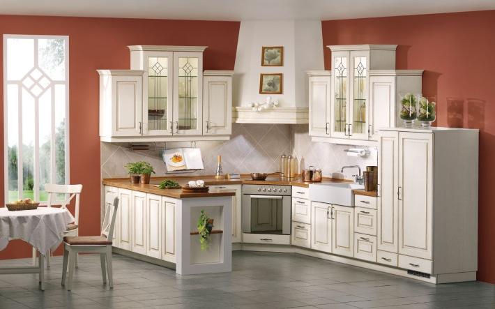 kitchen-color-idea Embroidering Kitchen Interiors - Kitchen design idea