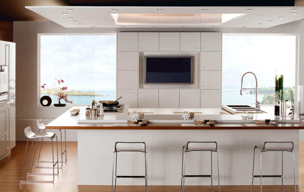 kitchen-lighting-ideas Embroidering Kitchen Interiors - Kitchen design idea