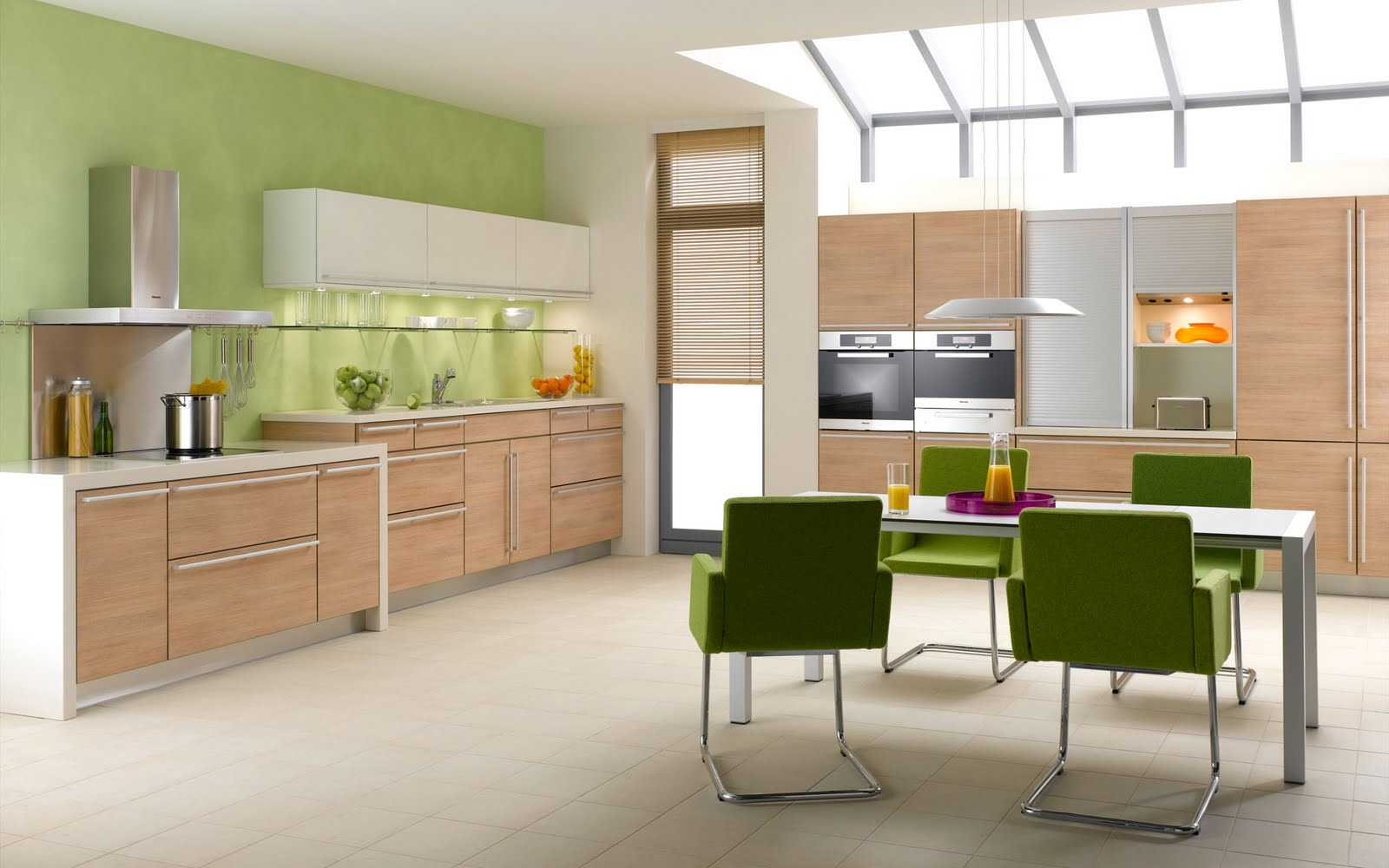 kitchen pastel color scheme
