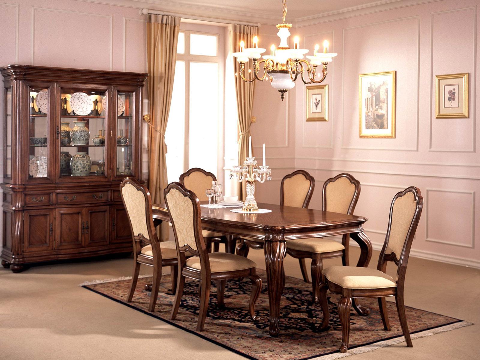 modern dining room decoration idea