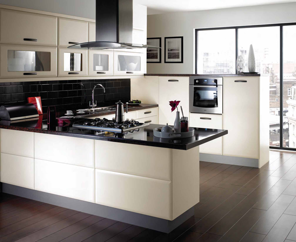 u-shaped kitchen design