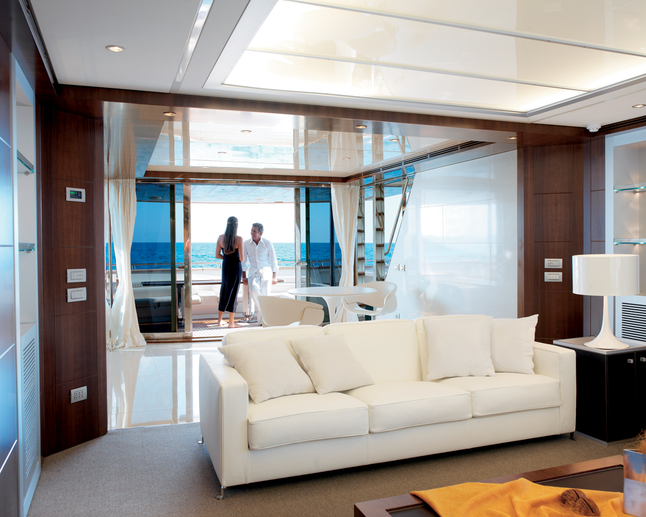 Yacht interior decoration interior design ideas for Yacht interior design decoration
