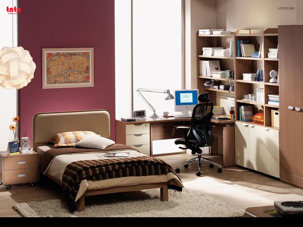 Oak-Teen-Room-Idea Oak Teen Room Idea