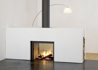 home contemporary fireplace
