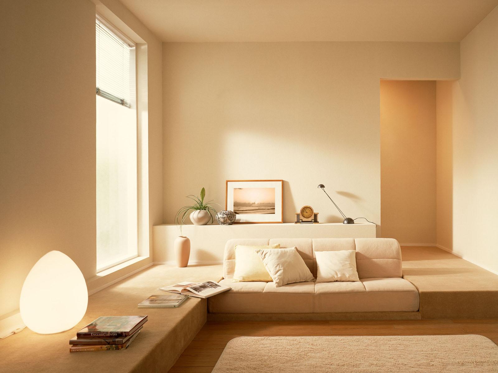 Low sitting living room interior design ideas for Interior decoration for sitting room
