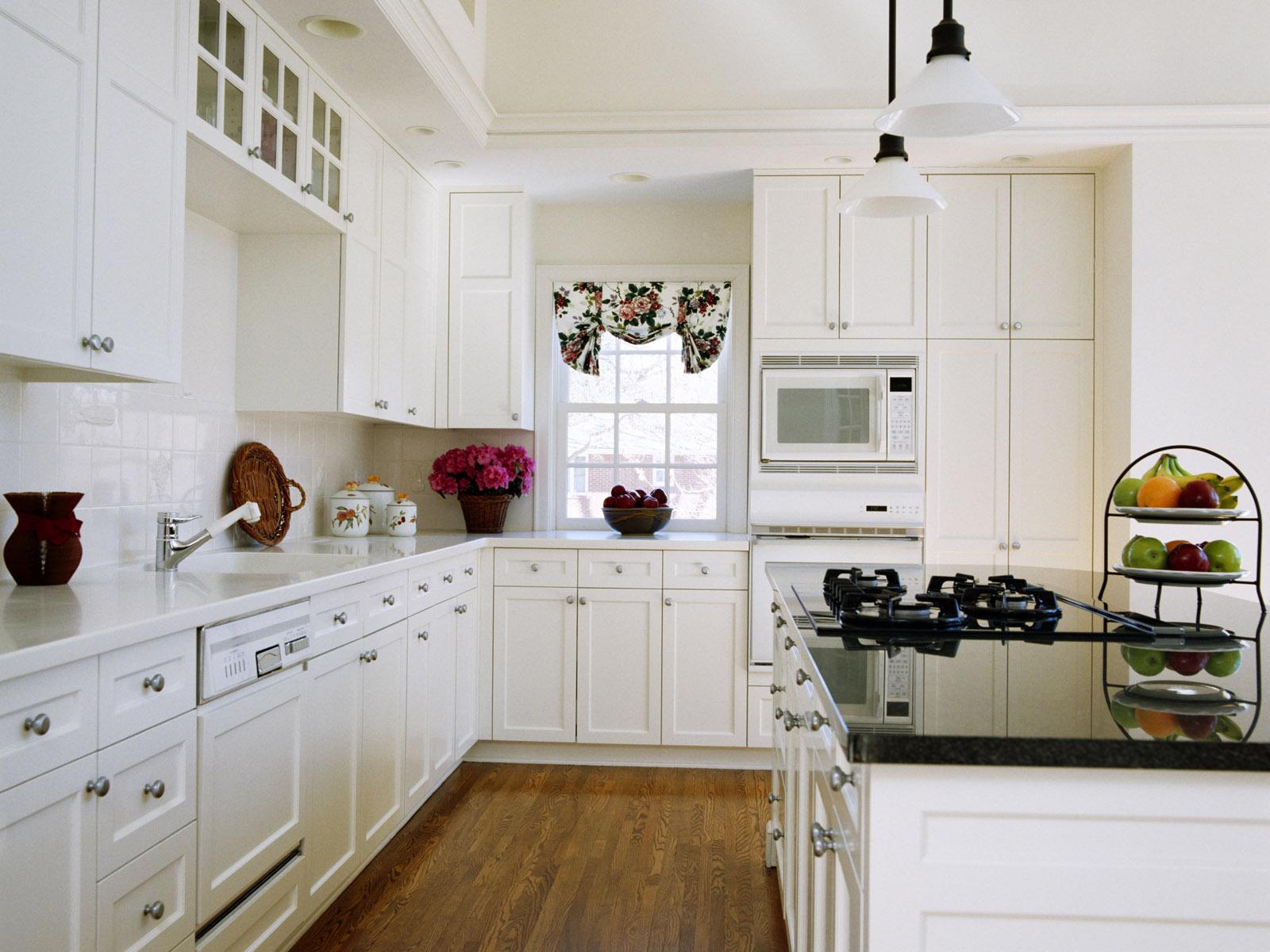 white-kitchen-interior white kitchen interior idea