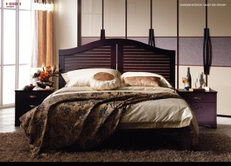 Brown Bedroom Furniture Design