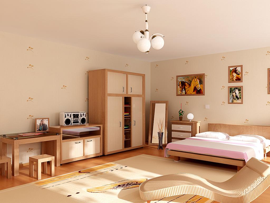All-Wood-Pink-Kids-Room-Design All Wood Pink Kids Room Design