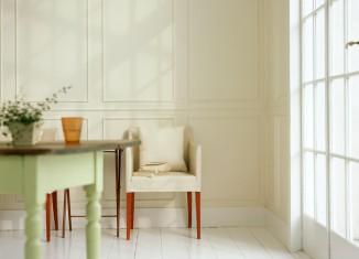 White Simple Home Interior