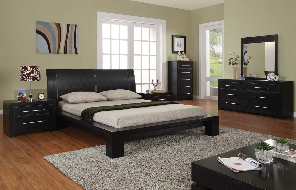 Modern bedroom furniture interior design ideas for Modern bedroom sets