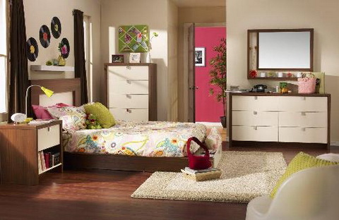 color-ideas-for-teenage-girls-bedroom Choosing Best Color Scheme for a Teen Girl's Bedroom