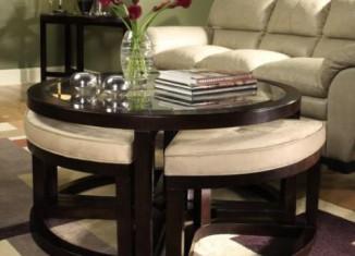 stylish livingroom coffee table