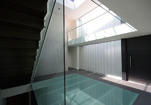 Modern-Glass Flooring