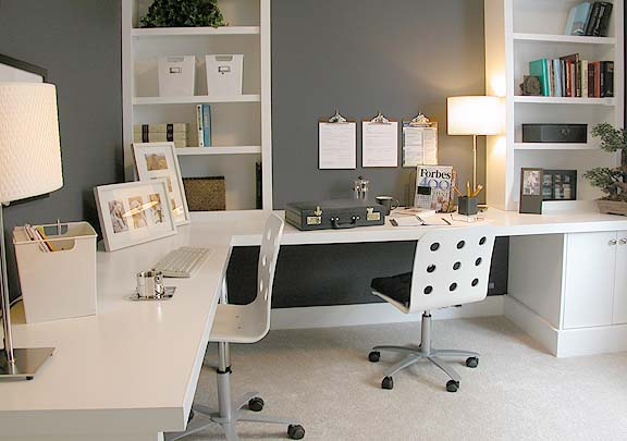 big space home offices design