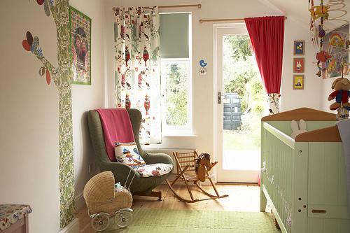 decorate a nursery