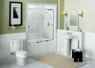 light color small-bathroom